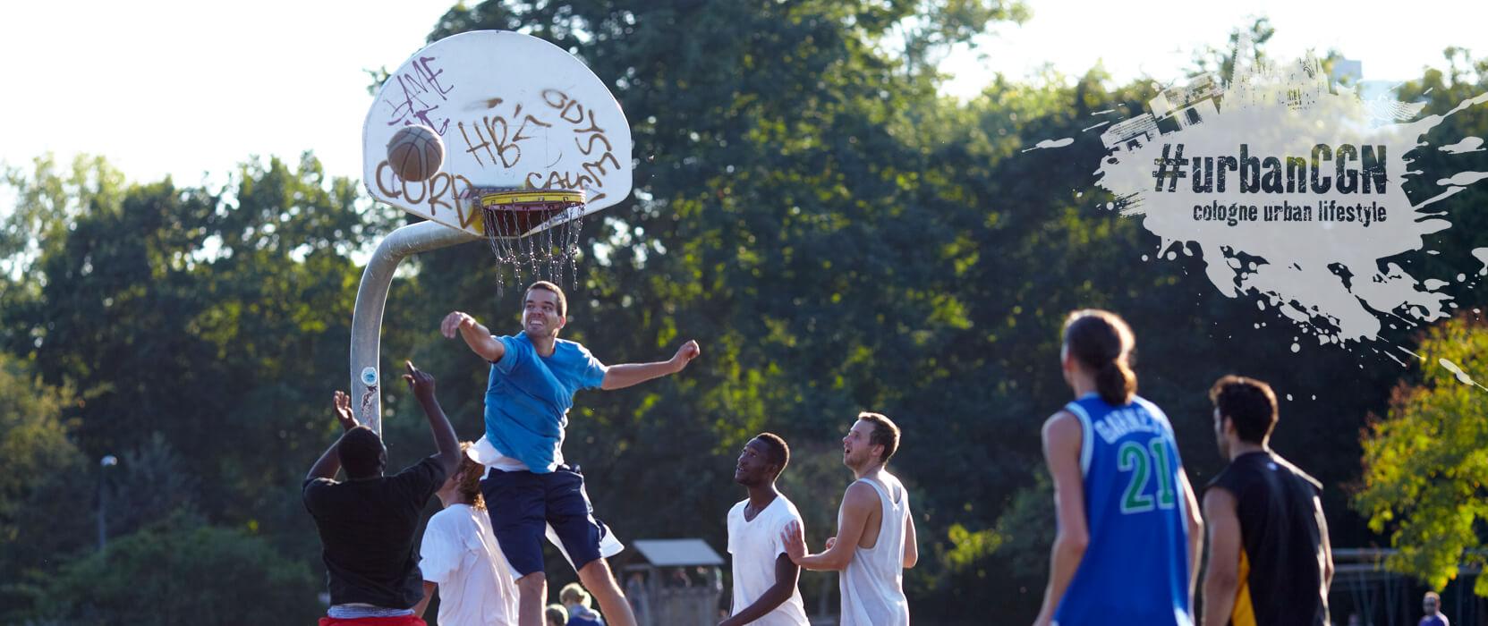 Aachener Weiher, Basketball ©KölnTourismus GmbH, Dieter Jacobi