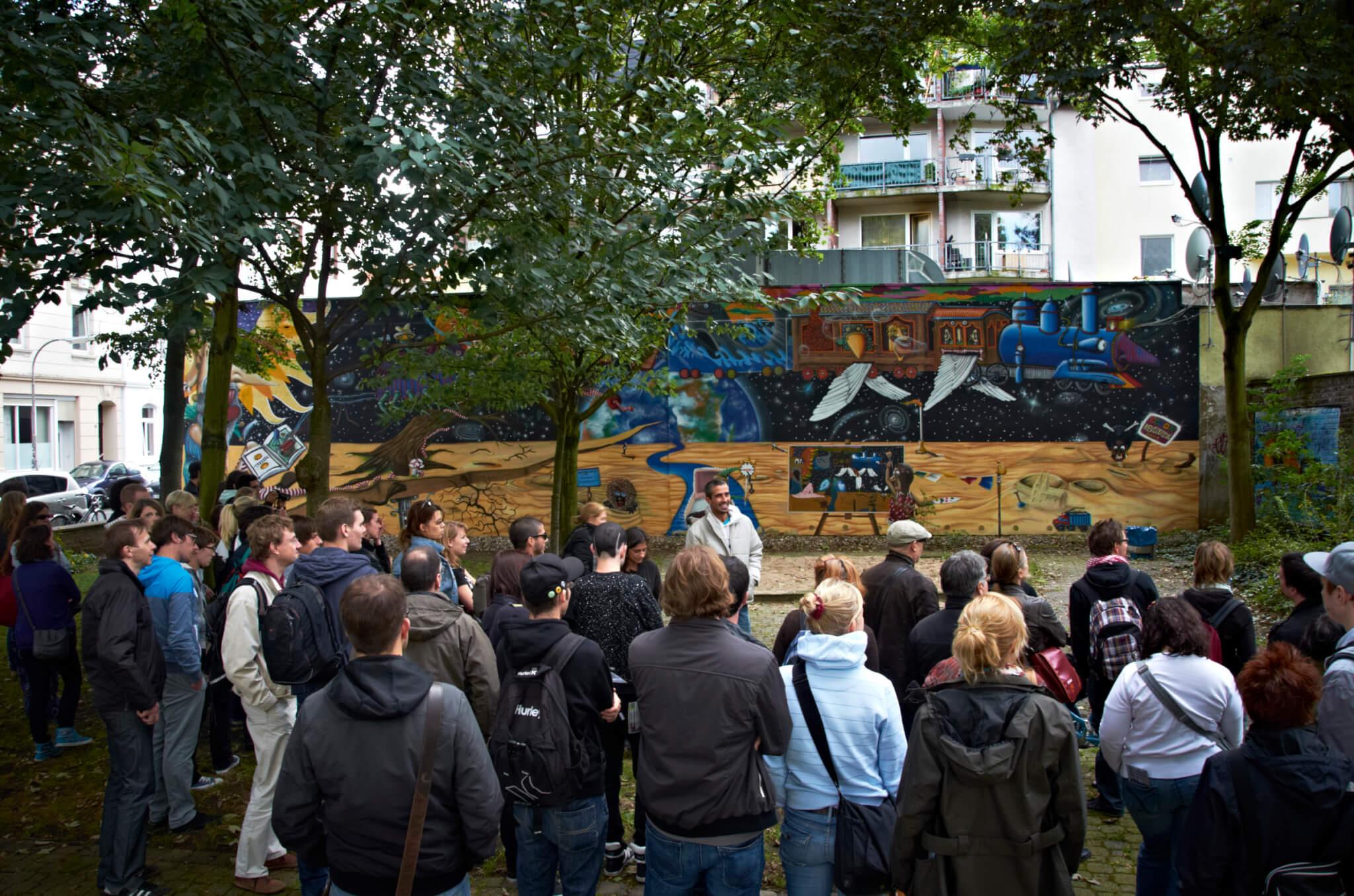 City Leaks urban art Führung © Sascha Klein