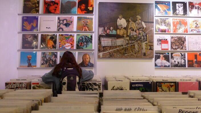 Parallel Schallplatten