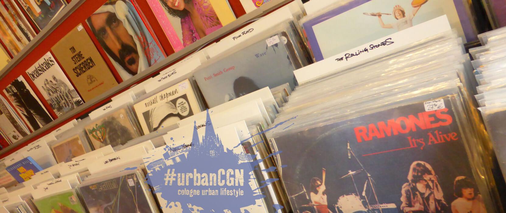 Schallplattenläden in Köln