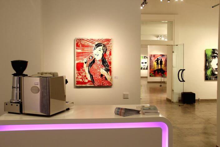 30works: Gruppenausstellung mit Werken von mittenimwald und EMESS, Foto: 30works Galerie