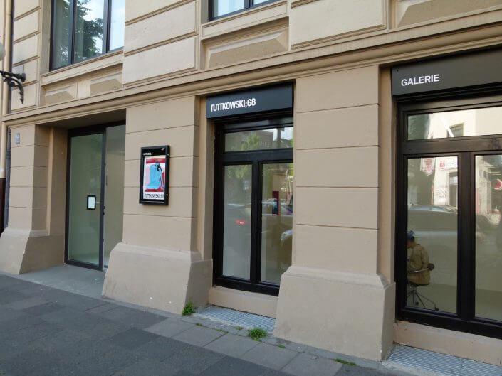 Galerie Ruttkowski;68, Bismarckstraße, Foto: Sascha Klein