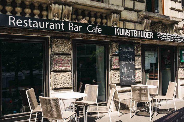 Kunstbruder Galerie und Restaurant, Händelstraße 51, Foto: Silviu Guiman