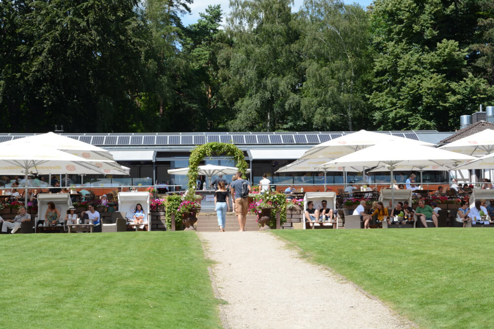 Seaside Garden im Club Astoria - Biergärten in Köln