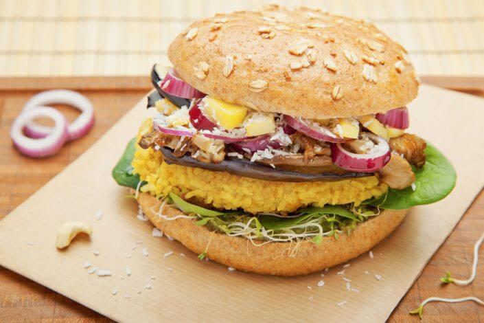 Bunte Burger, Happy Buddha Asia Burger