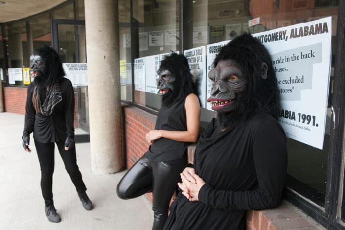 Guerrilla Girls © Guerrilla Girls. Courtesy guerrillagirls.com