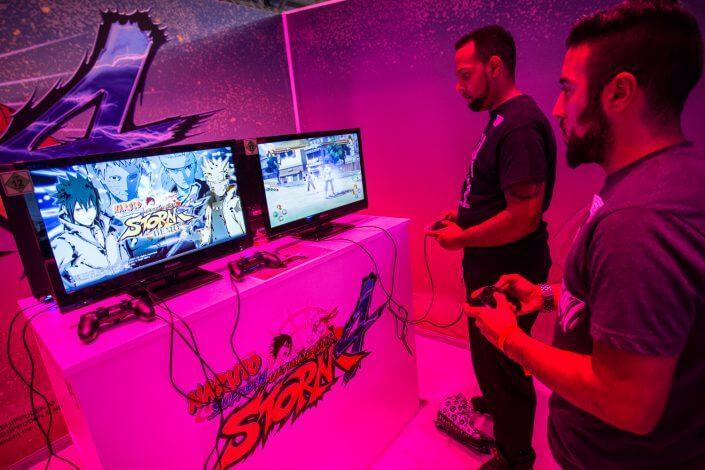 gamescom 2015 - Stand: Bandai Namco, Halle 7