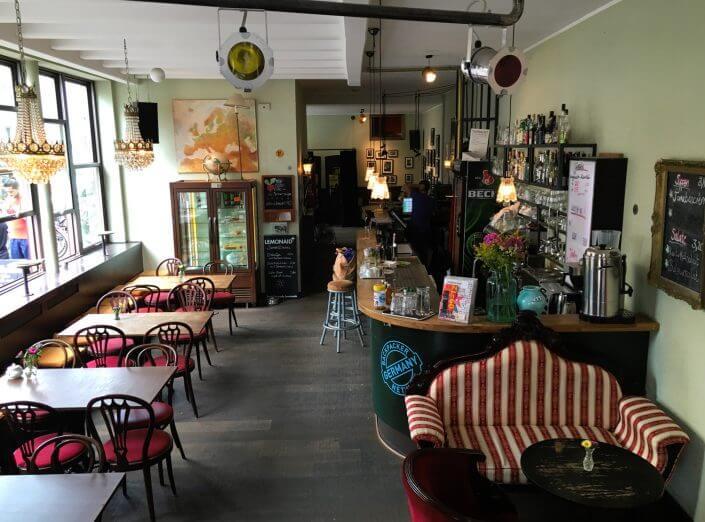 Hostel in Köln: Der Weltempfänger, Bar