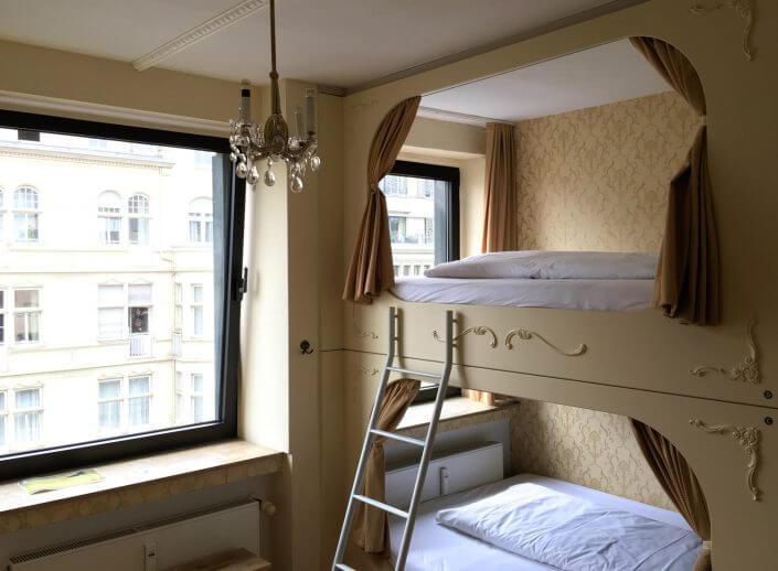 Hostel in Köln: Die Wohngemeinschaft, Zimmer
