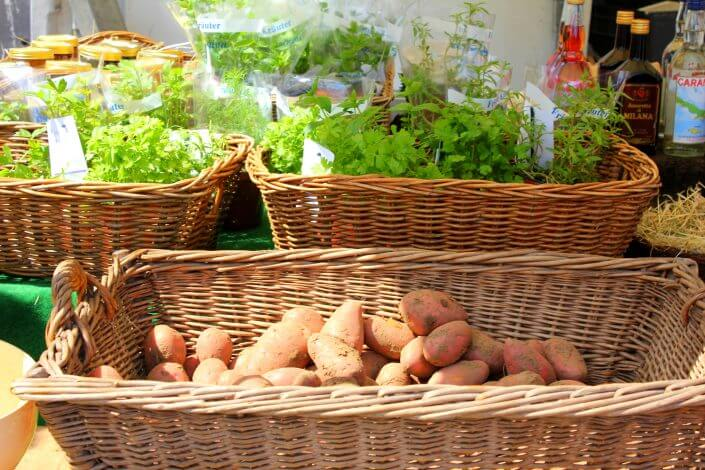 Flohmarkt am Südstadion, Gemüse