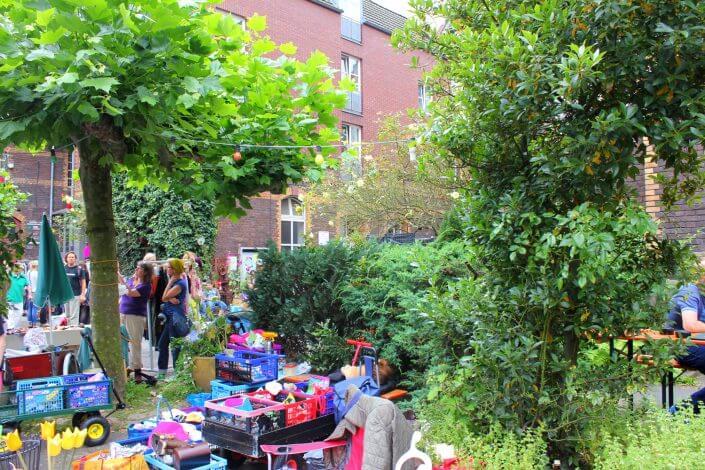 Flohmarkt: Alte Feuerwache im Agnesviertel