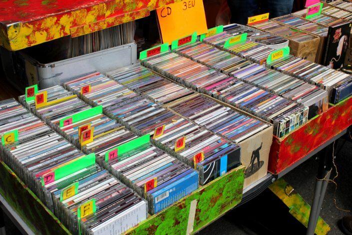 Flohmarkt: Nachtkonsum, CDs
