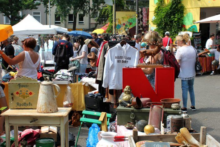 flea markets in cologne the top 5 of the city visitkoeln blog. Black Bedroom Furniture Sets. Home Design Ideas