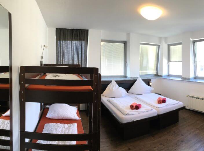 Hostel Köln, Zimmer