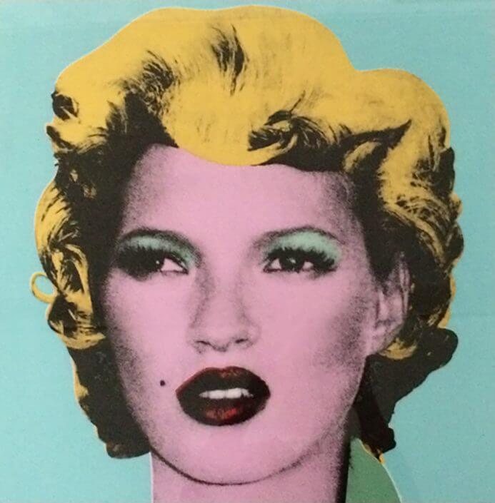 Banksy - Kate signed (2005) - Galerie Kronsbein