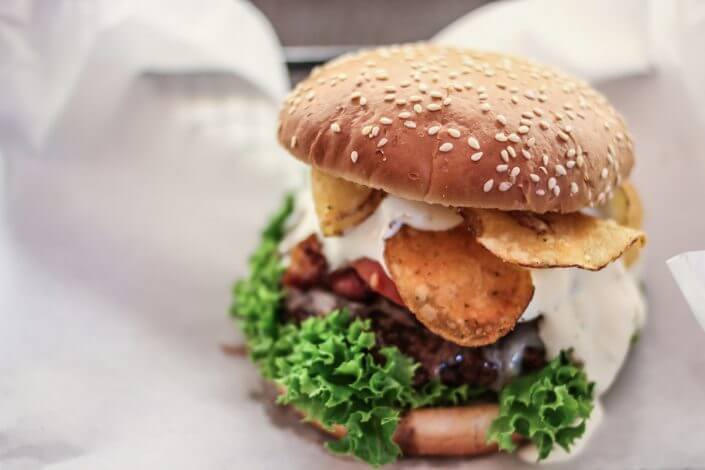 Beef Brothers, Burger