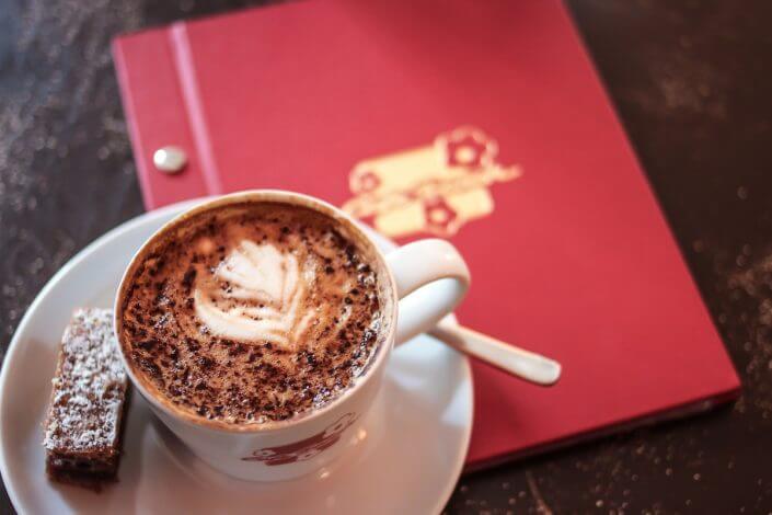 Café Franck, Kaffee und Kuchen