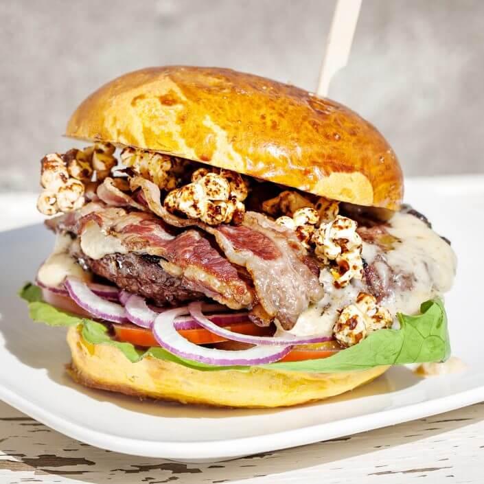 Die fette Kuh, Burger ©Tom Hafner