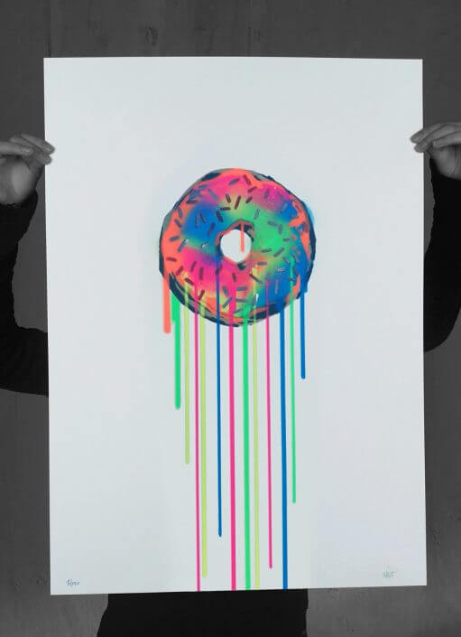 Eliot, The Super Rainbow Donut