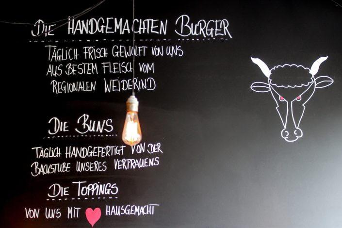 Fräulein Herborths, Burgerkarte