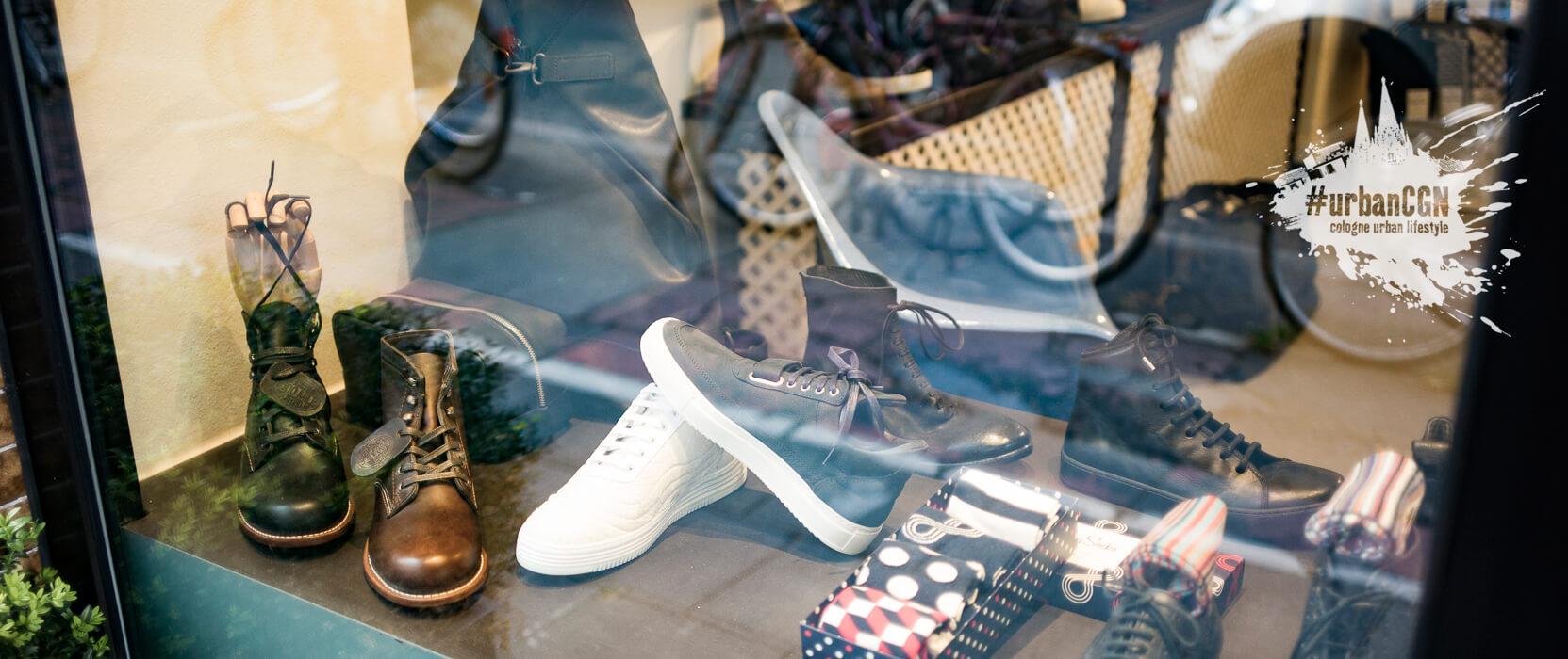 Die fünf besten Schuhläden Kölns