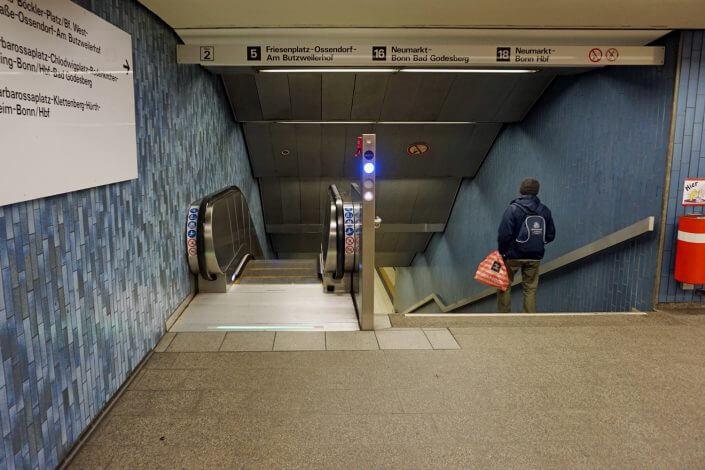 Köln für Imis und Besucher | Kölner Rolltreppen