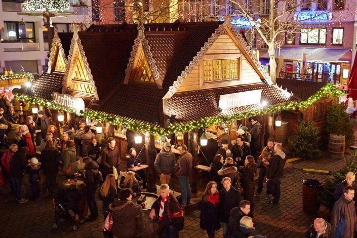 Weihnachtsmarkt in Köln, Heimat der Heinzel ©KölnTourismus GmbH, Dieter Jacobi