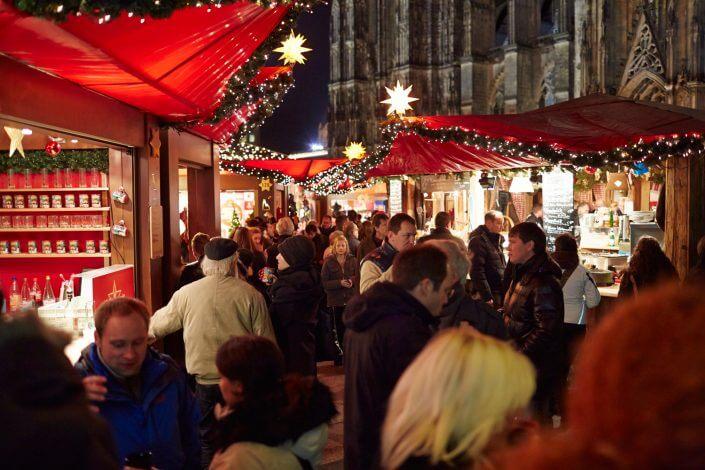 Weihnachtsmarkt in Köln, Weihnachtsmarkt am Kölner Dom ©KölnTourismus GmbH