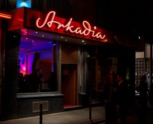 Arkadia, Kölner Clubs ©Gaffel