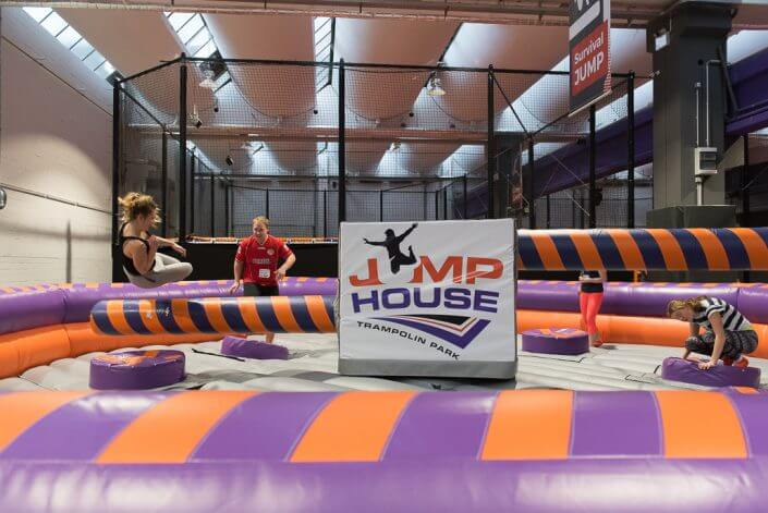 Jump House Köln - Indoor-Action in Köln