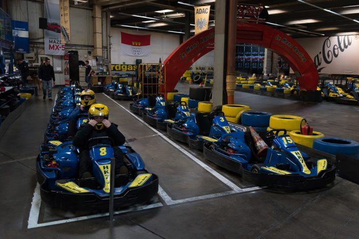 Le Mans Karting - Indoor-Action in Köln