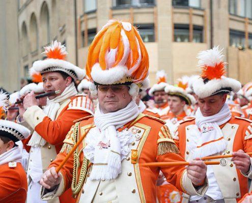 """Nippeser Bürgerwehr """"Appelsinefunke"""", Kölner Karneval"""