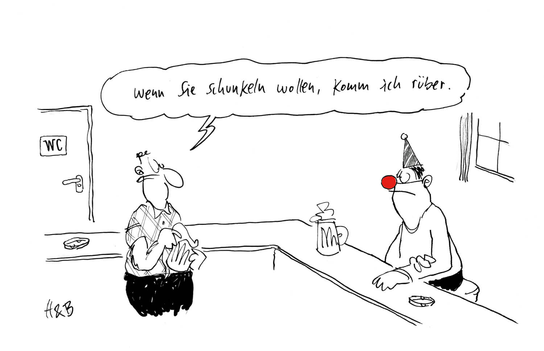 Cartoonsitzung, Kölner Karneval