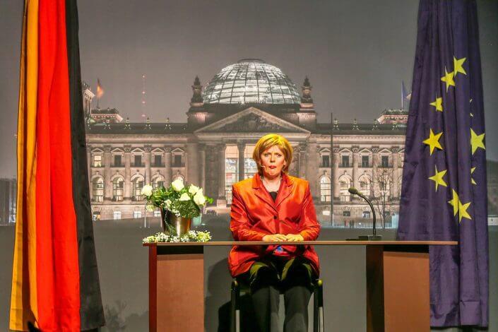 Stunksitzung, Kölner Karneval, Merkel ©A. & W. Bartscher / bartscher.net