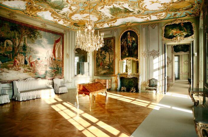 Schloss Augustusburg, Audienzsaal. ©Horst Gummersbach