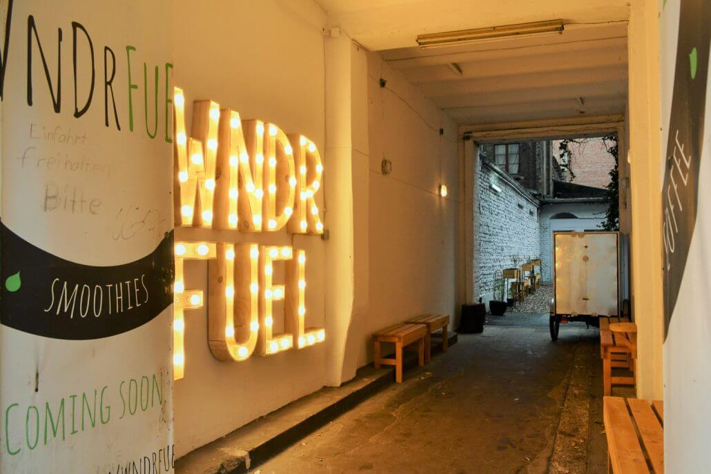 WNDRFUEL Maintains A Markedly Industrial Design Throughout (think Brick  Walls And Rusty Metal), Interspersed By Lots Of Greenery And Retro  Accessories.