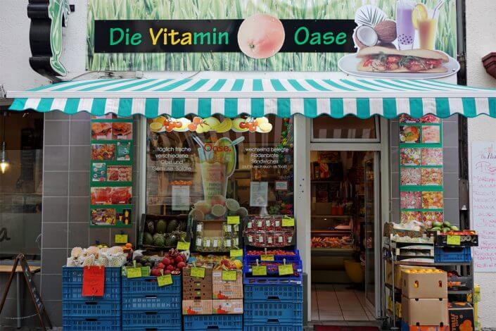 Lunch Time rund um den Dom – Snacks aus aller Welt, Die Vitamin-Oase