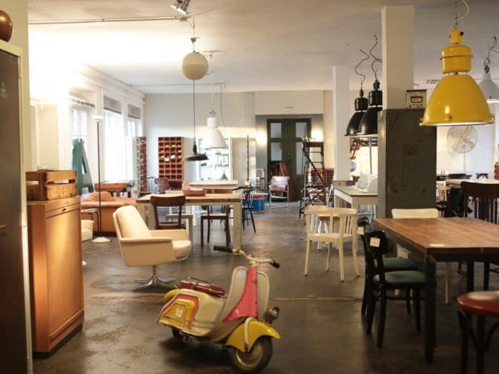 Geliebte Möbel, Vintage Läden