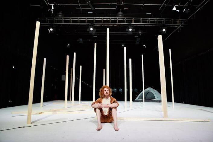 Theaterszene Europa - Ghosts, Ruairí Donovan und Asaf Aharonson, studiobühneköln, 2016, Foto: Till Böcker - Theater