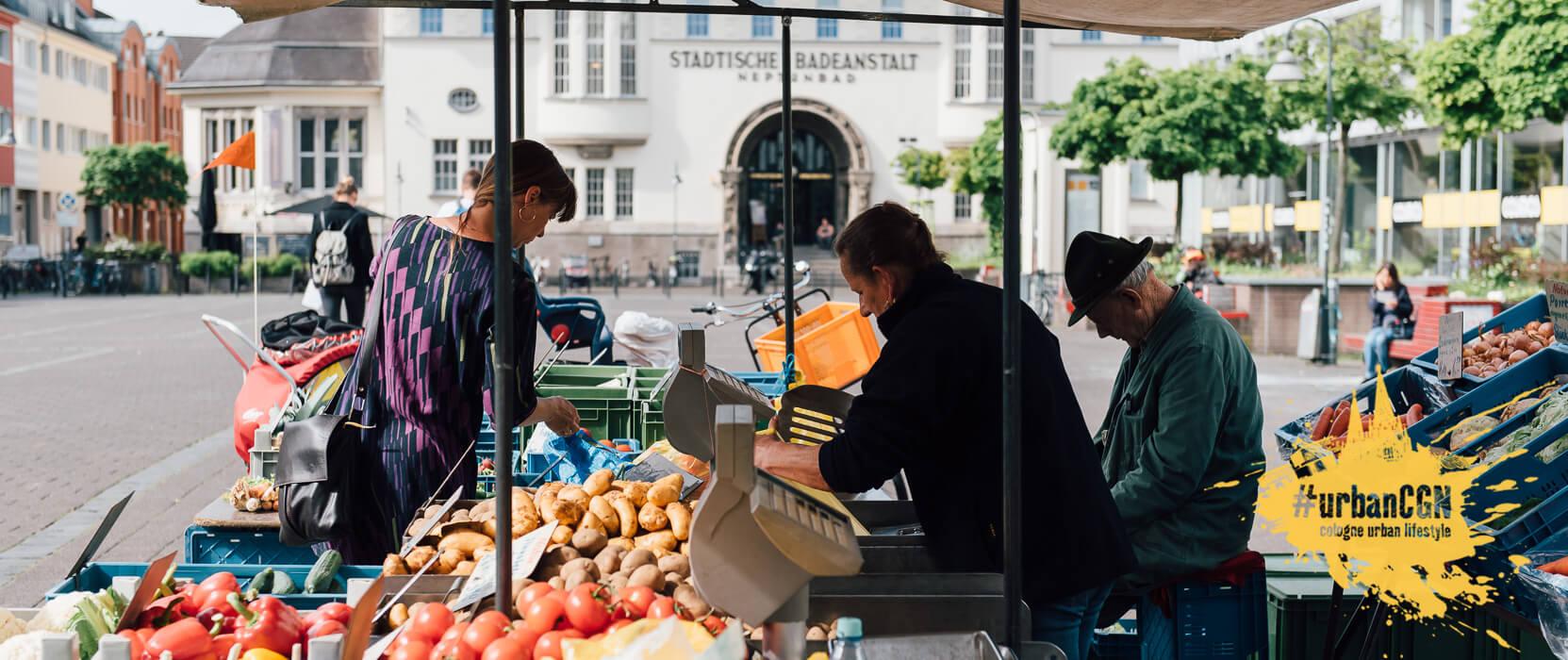 Wochenmärkte in Köln, Headerbild
