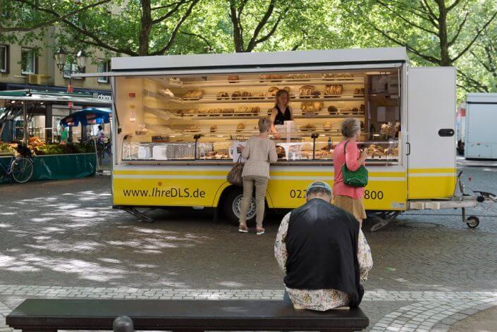 Der Ökomarkt auf dem Rudolfplatz - Wochenmärkte in Köln