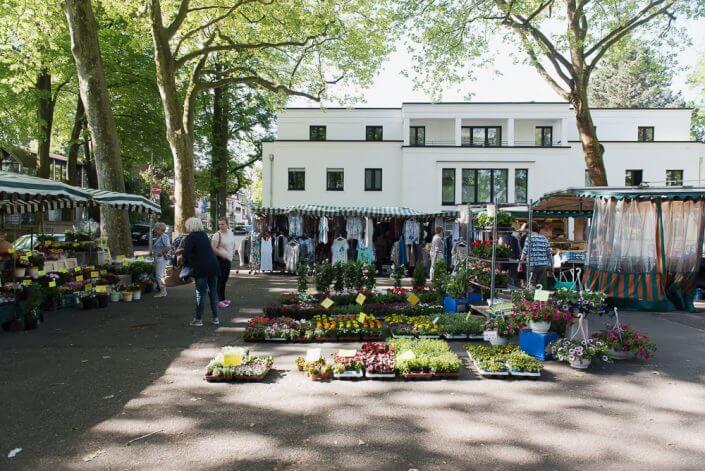 Wochenmarkt in Weiden - Wochenmärkte in Köln