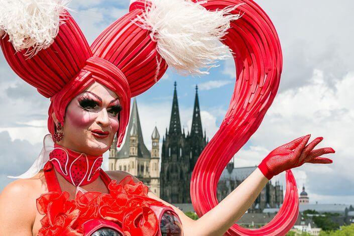Queer Cologne - Ausgehen unter dem Regenbogen von Köln, © Tatjana Taft Foto Jörg Brocks KölnTourismus GmbH