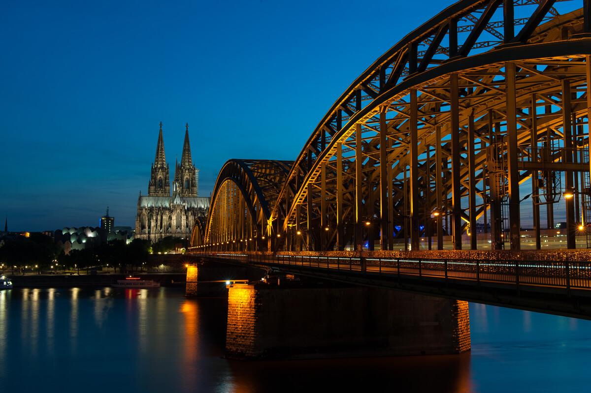 Kölner Rhein-Panorama ©Damian Zimmermann. Foto-Spots in Köln