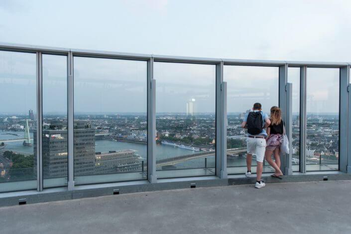Kölntriangle ©Damian Zimmermann. Foto-Spots in Köln