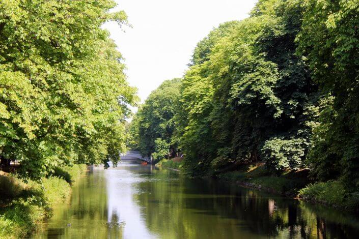 Rautenstrauchkanal - Oasen der Ruhe in Köln