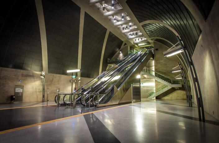 U-Bahn-Haltestelle in Köln ©Damian Zimmermann. Foto-Spots in Köln