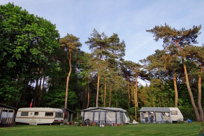 Campingplatz Waldbad in Köln-Dünnwald