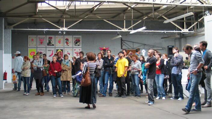 CityLeaks Führung, Ehrenfeld, 2011, Foto: Silviu Guiman
