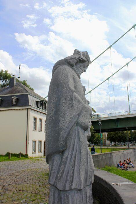 Heiliger Nepomuk - Köln Mülheim